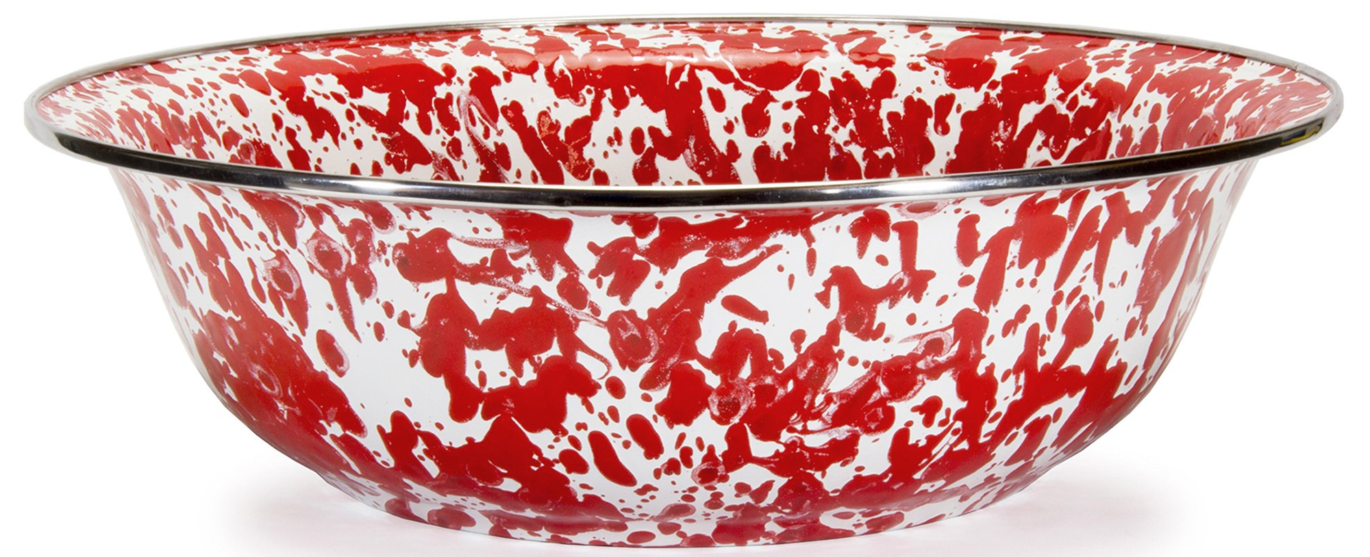 RD03 Red Swirl Serving Basin