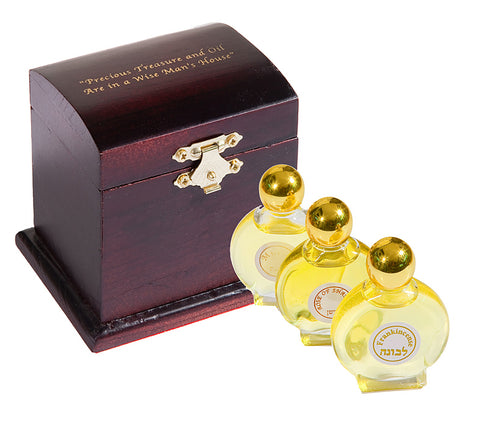 """Precious Treasures and Oil"" Anointing Oil Gift Box"