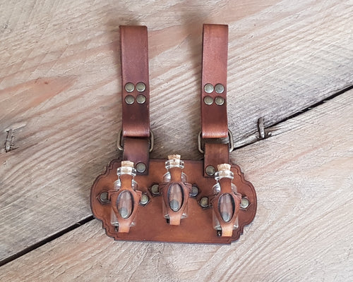 3 potions holder belt.