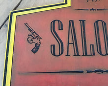 Load image into Gallery viewer, Saloon Wood Sign.