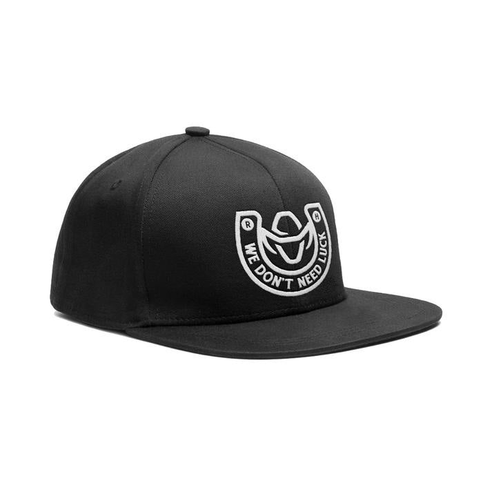 WE DON'T NEED LUCK SNAPBACK CAP