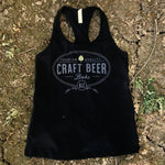 Craft Beer Babe Tank Black