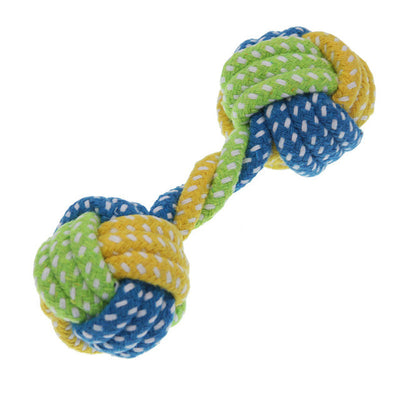 Dog Hunter Knot Toy Cotton Rope Ball - Pets.al