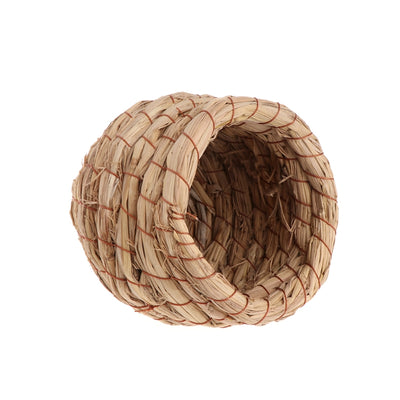 Straw Weaved Jar Shape Bird Sleeping Nest - Pets.al