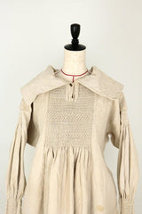 farmers work shirt with smocking