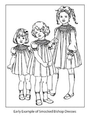 little girls in smocked dresses