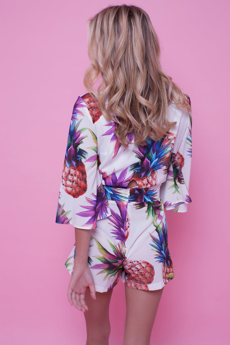 Lottie Playsuit Pineapple Party