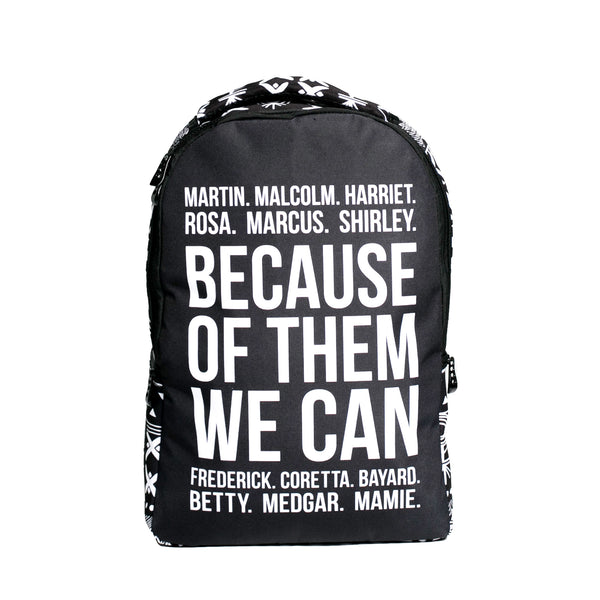 Because of Them We Can Backpack (Pre-order)
