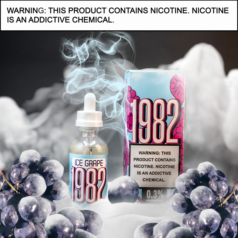 1982 Grape - E Liquid 60ml