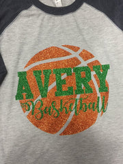 Oberlin Red Devils & Avery Basketball High School Tee