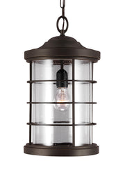 6224401-12, One Light Outdoor Pendant , Sauganash Collection