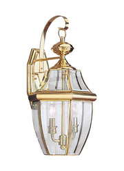 8039-02, Two Light Outdoor Wall Lantern , Lancaster Collection
