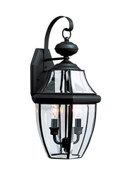 8039-12, Two Light Outdoor Wall Lantern , Lancaster Collection