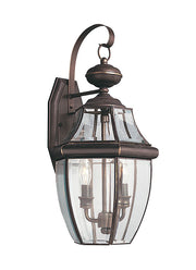 8039-71, Two Light Outdoor Wall Lantern , Lancaster Collection