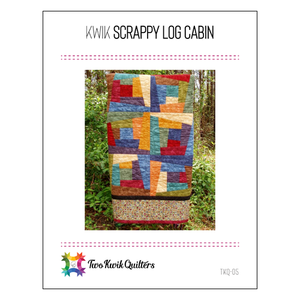 Kwik Scrappy Log Cabin Pattern
