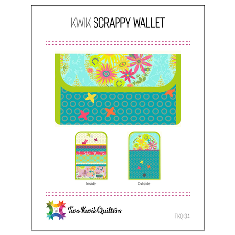 Kwik Scrappy Wallet Pattern
