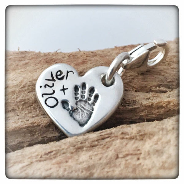 Hand/Foot/Paw Print Charm (To fit Thomas Sabo)