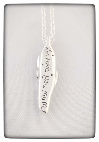 "Personalised Family ""Pea's in a Pod"" Necklace"