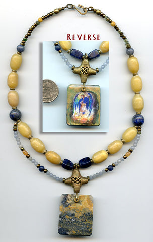 Archangel Michael Pietersite Necklace - PatriArts Gallery