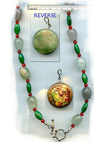 Brigid of Ireland Reversible Necklace/Chaplet - PatriArts Gallery