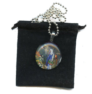 Touchstone Pendants - Clear Glass - PatriArts Gallery