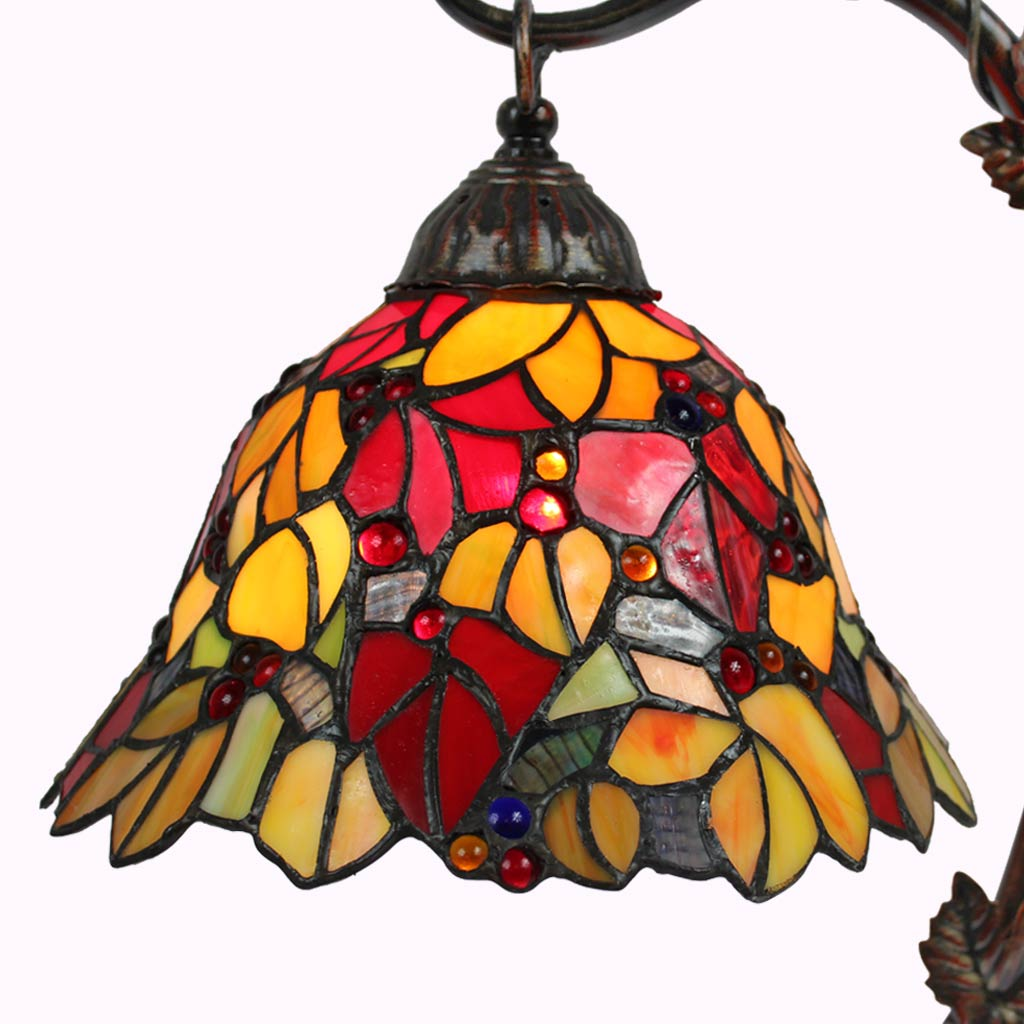 Autumn Delight Tiffany Lamp from Memory Lane Lamps