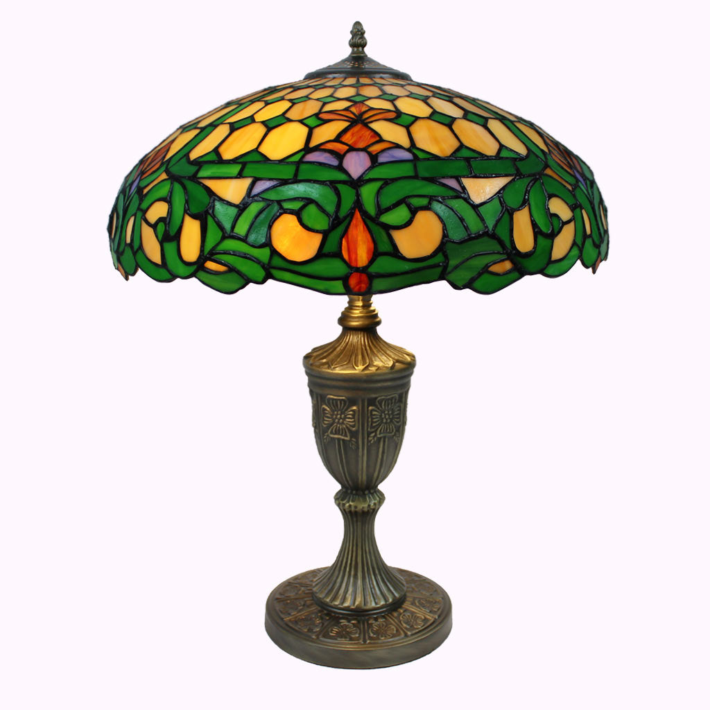 Colonial Tiffany Table Lamp