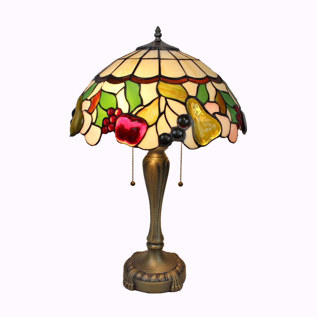Fruit Medley Tiffany Table Lamp - Large