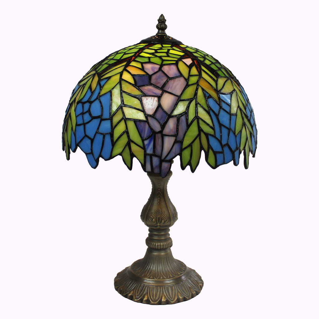 Large Honey Locust Tiffany Table Lamp