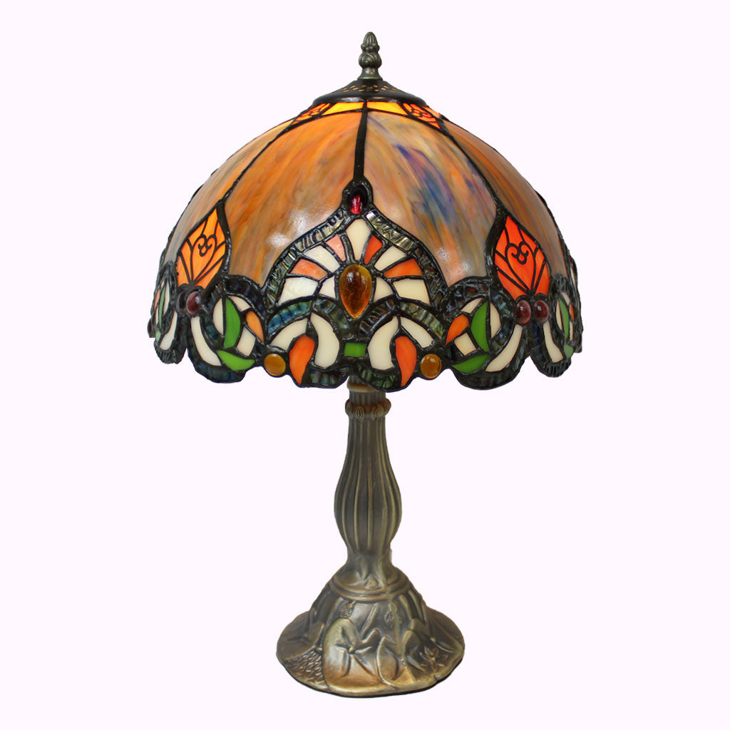 Morning Sunrise Tiffany Table Lamp