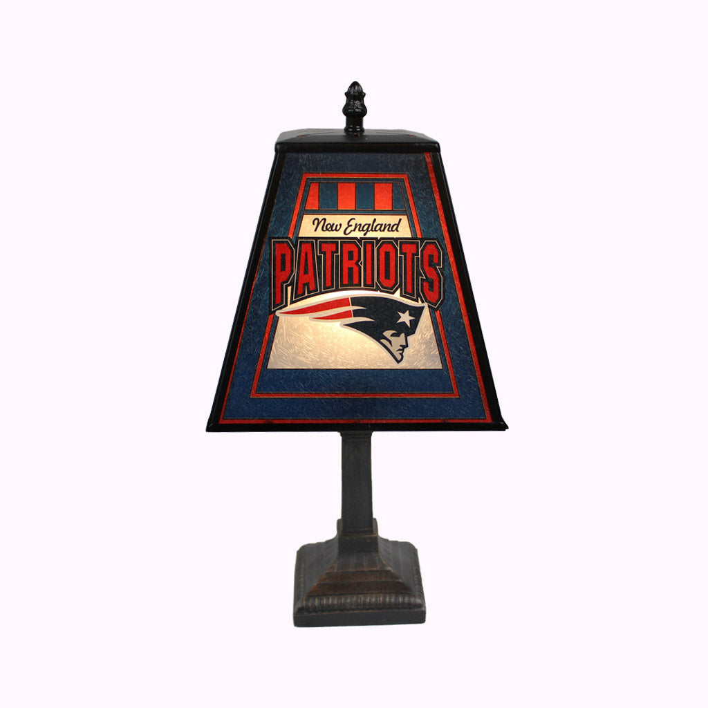 New England Patriots Mission Lamp