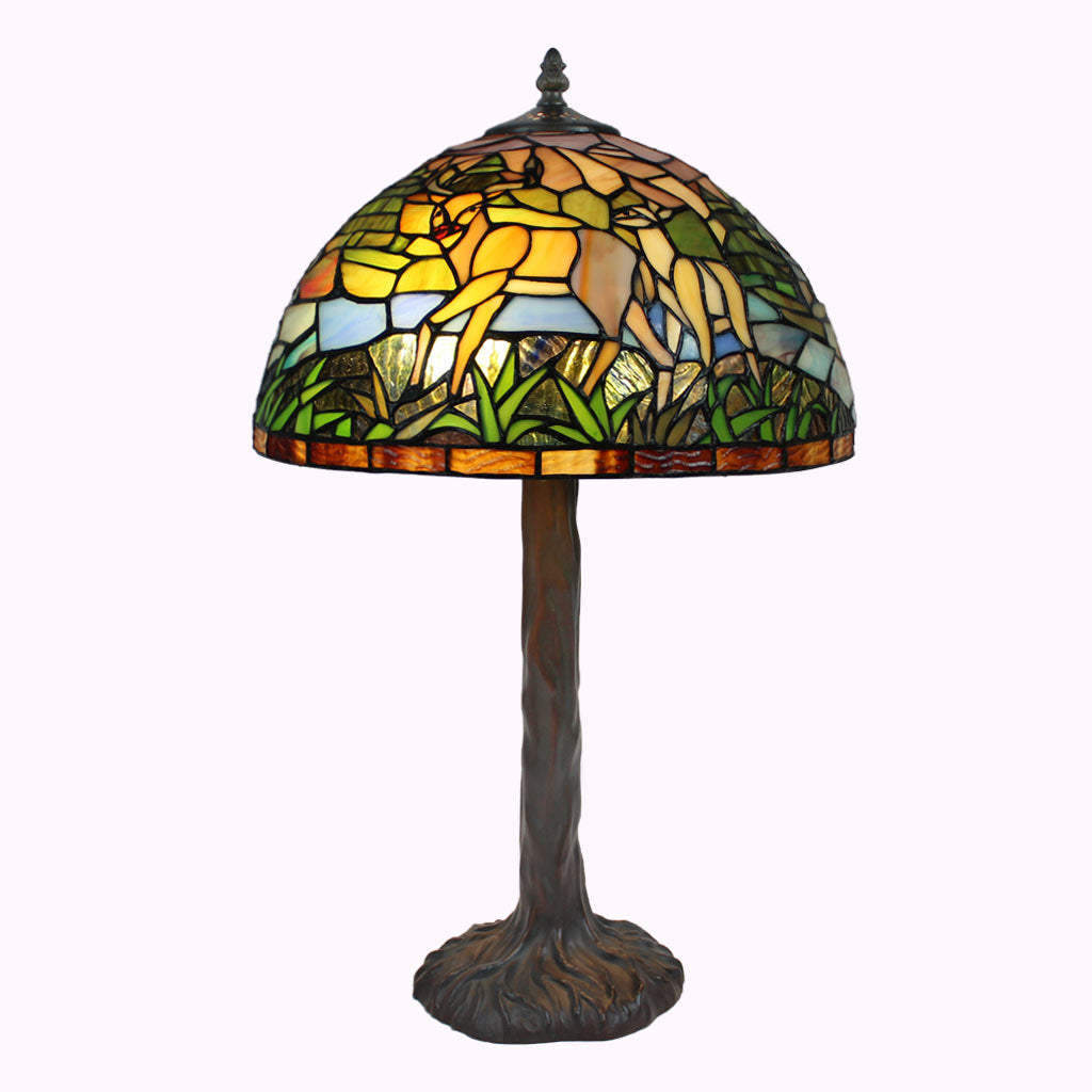 Wilderness Tiffany Table Lamp
