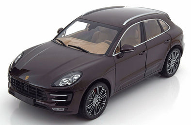 Minichamps 1/18 PORSCHE MACAN TURBO - 2013 - BROWN METALLIC L.E.504 pcs. 110062500