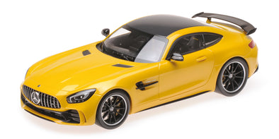 Minichamps 1/18 MERCEDES-AMG GT-R - 2017 - Yellow - 155036021