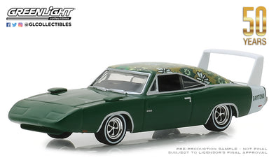 GreenLight 1/64 Anniversary Collection Series 7 - 1969 Dodge Charger Daytona Mod Top 50th Anniversary Solid Pack - #27970-B