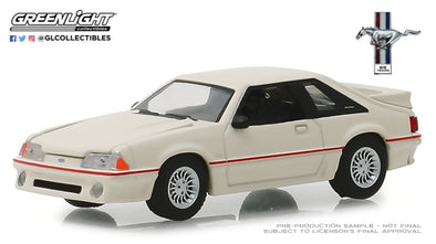 GreenLight 1/64 Anniversary Collection Series 7 - 1989 Ford Mustang 5.0 25 Years Solid Pack - #27970-E