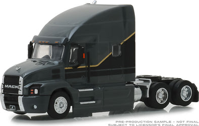 GreenLight 1/64 S.D. Trucks Series 6 - 2019 Mack Anthem Truck Cab Solid Pack - #45060-A