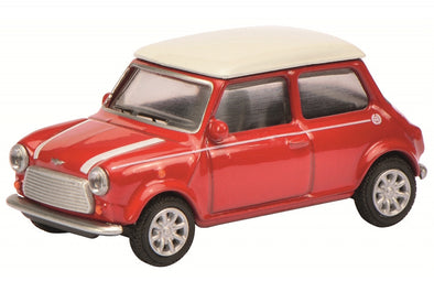 Schuco 1/64 Mini Cooper, red  #452011700