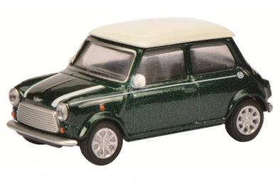 Schuco 1/64 Mini Cooper, green-white  #452011800