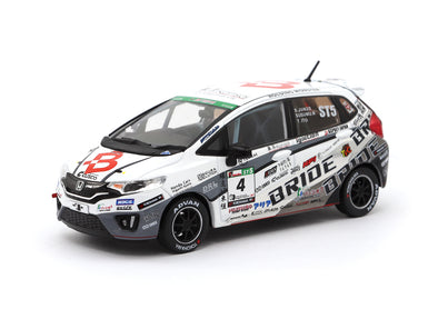 Tarmac Works 1/43 Honda Fit3 RS - Team BRIDE Super Taikyu 2017 T43-006-BR