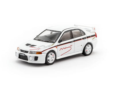 Tarmac Works Hobby64 Mitsubishi Lancer Evo V Tuned By MINE'S - T64-012-MNE
