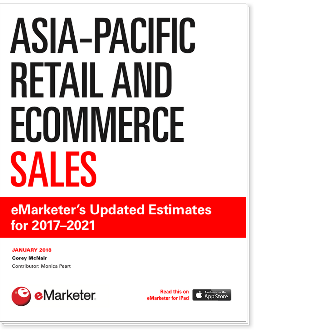 Asia-Pacific Retail and Ecommerce Sales: eMarketer's Updated Estimates for 2017–2021