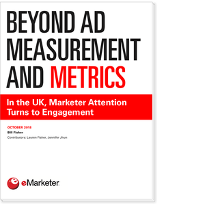 Beyond Ad Measurement and Metrics: In the UK, Marketer Attention Turns to Engagement