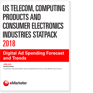US Telecom, Computing Products and Consumer Electronics Industries StatPack 2018: Digital Ad Spending Forecast and Trends