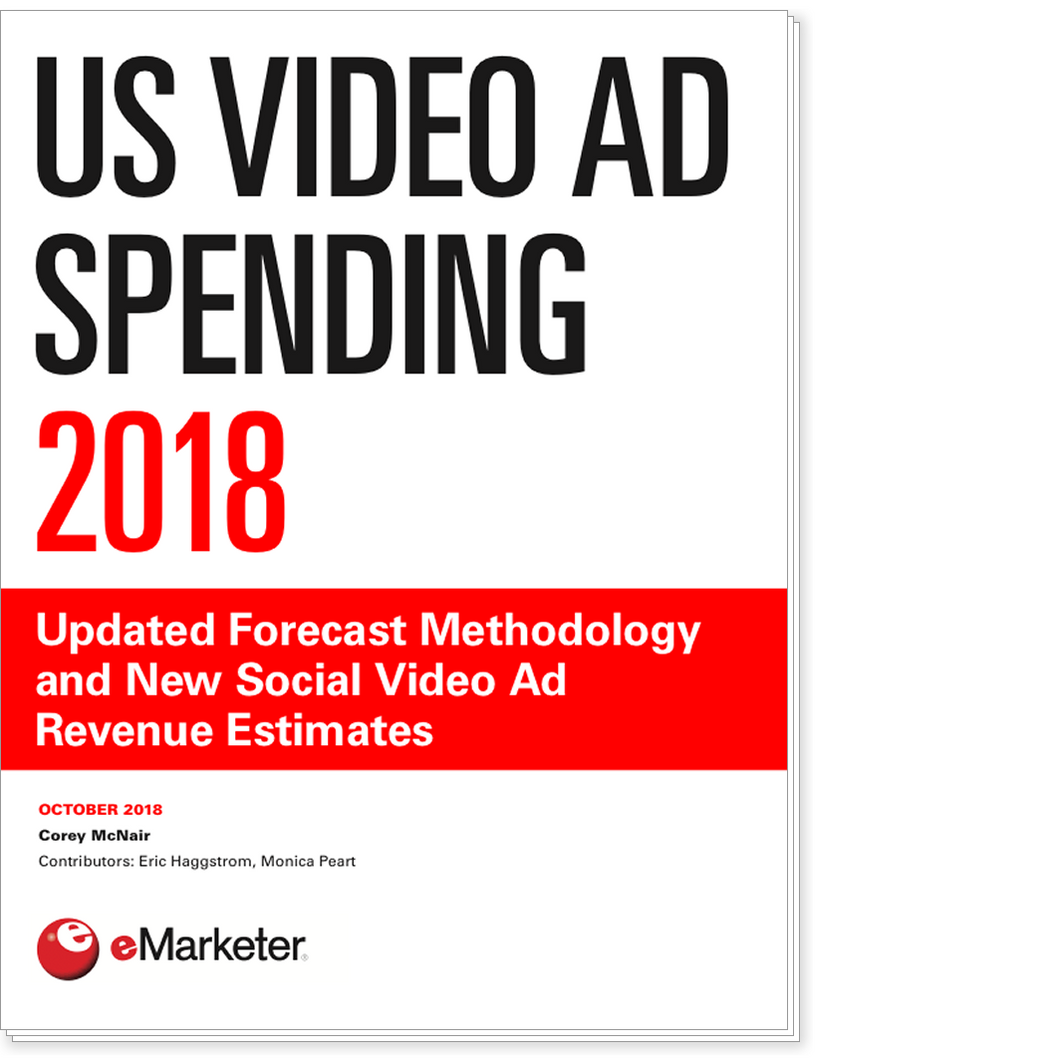 US Video Ad Spending 2018: Updated Forecast Methodology and New Social Video Ad Revenue Estimates