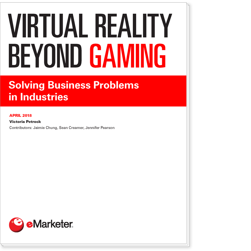 Virtual Reality Beyond Gaming: Solving Business Problems in Industries