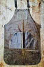 Load image into Gallery viewer, Leather Apron in Brown