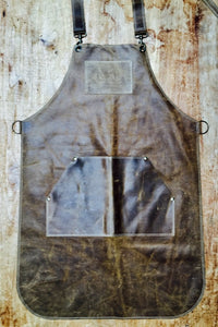 Leather Apron in Brown