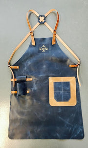 real leather apron