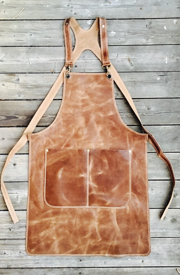 Light Brown Ladies Apron